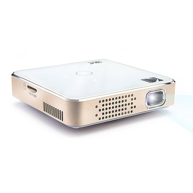 1080p HD LED DLP Rechargeable Pico Project Kodak Ultra Mini Portable Projector
